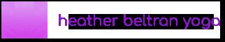 heather beltran yoga logo gradient