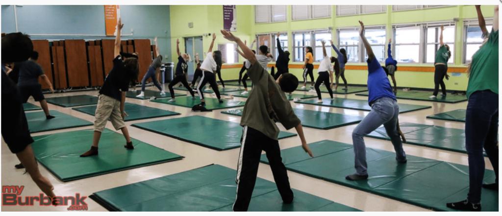 yoga, kids, children