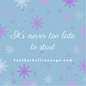 its never too late graphic