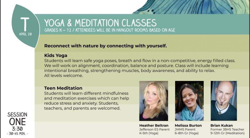 Earth Week Festival Yoga & Meditation