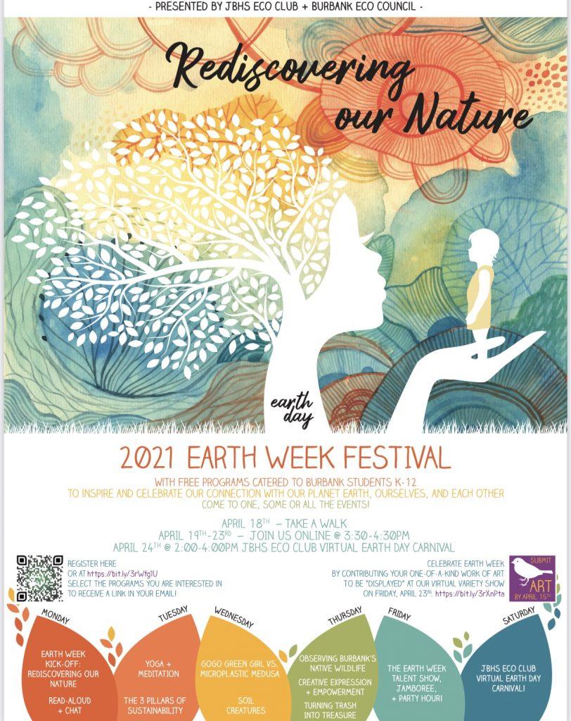 Earth Week Festival flyer